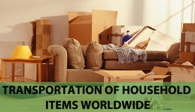 Transportation of Household Items worldwide